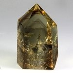 Citrine Polished Point ~6.5 x 4 cm