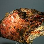 ATTRACTIVE Crocoite Mineral Specimen ~110 mm