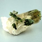 Epidote in Quartz ~61mm