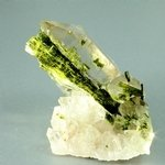 Epidote in Quartz ~55mm