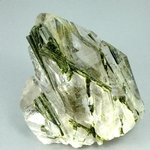 FABULOUS Epidote in Quartz ~72mm