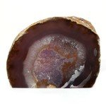 Free Standing Polished Agate - Natural Brown ~12cm