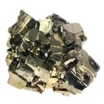GOLDEN Iron Pyrite Crystal Group ~58mm