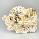 Golden Rutile with Hematite Healing Mineral ~57mm