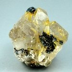 Golden Rutile with Hematite Healing Mineral ~40mm