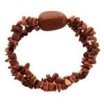 Red Goldstone Bracelet - Nugget & Gem Chips