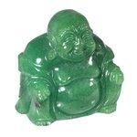 Green Aventurine Sitting Buddha Statue