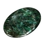 Green Chromium Mica Thumb Stone