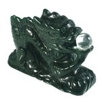 Green Goldstone Chinese Dragon