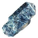 Incredible, Large Blue Apatite Healing Crystal ~96mm From Brazil, Intermediate Crystal Healing Level Specimen
