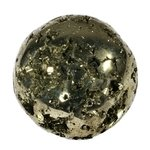 Iron Pyrite Tumblestone ~28mm