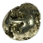 Iron Pyrite Tumblestone ~31mm