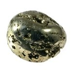 Iron Pyrite Tumblestone ~32mm
