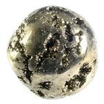 Iron Pyrite Tumblestone ~35mm