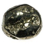 Iron Pyrite Tumblestone ~ 36mm