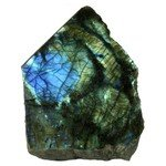 Labradorite (part polished) ~115mm