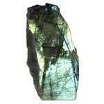 Labradorite (part polished) ~125mm