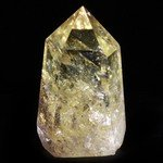 Lemon Citrine Polished Point  ~10 x 5.5cm
