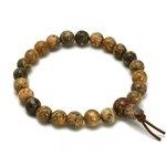 Leopardskin Jasper Power Bead Bracelet