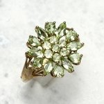 Maricota Amblygonite Ring in 9ct Gold