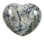 Merlinite Crystal Heart - 4.5cm