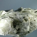 MYSTICAL Muscovite Mica with Green Tourmaline Specimen ~113mm