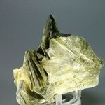 Mystical Muscovite Mica with Green Tourmaline Specimen ~71mm