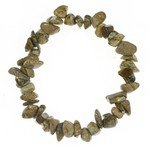 Picture Jasper Gemstone Chip Bracelet