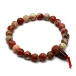 Poppy Jasper Power Bead Bracelet