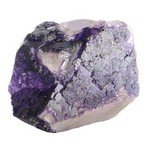 Purple Fluorite Healing Mineral ~41mm