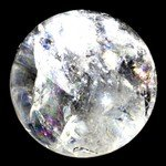 Quartz Crystal Ball ~5cm