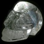 BEAUTIFUL Quartz Crystal Skull ~70x60mm