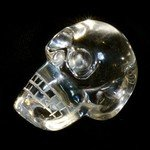 Quartz Crystal Skull ~ (38-40mm)