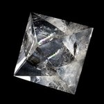 Quartz Octohedron Platonic Solid ~5.5cm
