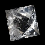 Quartz Octohedron Platonic Solid ~6.5cm