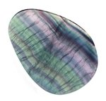 Rainbow Fluorite Slice  ~106mm