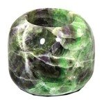 Rainbow Fluorite Tealight Candle Holder ~7.5cm