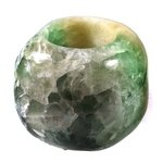 Rainbow Fluorite Tealight Candle Holder ~ 8.5 x 6.5cm