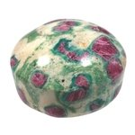 Ruby Fuchsite Polished Cabochon ~39mm