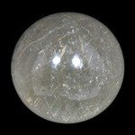 Rutilated Quartz Crystal Sphere ~4cm
