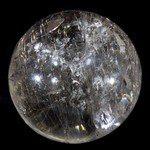 Rutilated Quartz Crystal Sphere ~6cm
