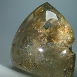 Rutilated Quartz Polished Point ~11 x 11cm