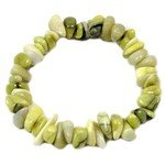 Scottish Serpentine Gemstone Chip Bracelet