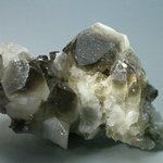 SUPERB Smoky Quartz Cluster ~86mm