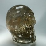 Smoky Quartz Crystal Skull ~11.3 x 7.8 cm