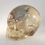 Smoky Quartz Crystal Skull ~5.5 x 4cm