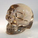 Smoky Quartz Crystal Skull ~5.5 x 5cm