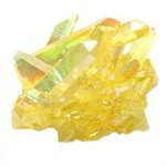 Sunshine Ultra Aura Quartz Healing Crystal ~40mm