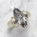 Super Seven & Silver Ring ~ Ring Size 8 US, Q UK