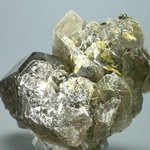 SUPERB Smoky Quartz with Golden Rutile Cluster ~95x66mm